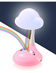 Boys Bedroom Light Fixtures - amazon com rainbow in my room tabletop décor night light