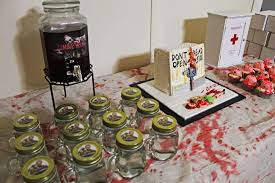 walking dead party supplies the walking dead birthday party ideas photo 3 of 8 catch my party