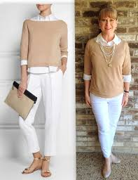 stylish for women over 40 would you do a capsule