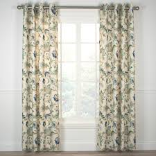 Textured Cotton Tie Top Drape by Indoor U0026 Outdoor Grommet Top Curtains And Panels Thecurtainshop Com