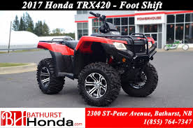 new 2017 honda trx420 rancher at bathurst honda b7012