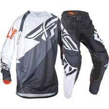 fly racing motocross helmets fly racing 2017 mx new evolution 2 0 black white jersey pants