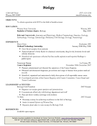 Pharmaceutical Regulatory Affairs Resume Sample Sample Wildlife Biologist Resume Resume Example Biology Resume