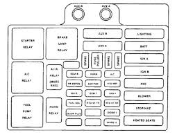 2000 tahoe fuse box diagram 2000 wiring diagrams instruction