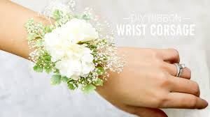 how to make wrist corsages gala accessories charming diy wrist corsages