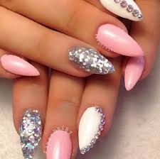 37 pink and white nail designs funyfashion