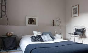 chambre bleu horizon chambre bleu nuit chambre bleu nuit et gris rouen taupe photo