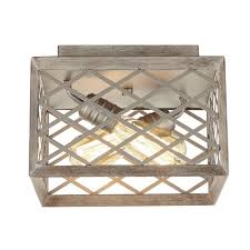 home decorators collection 2 light gilded pewter flushmount