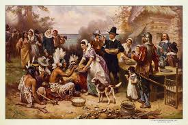 the thanksgiving 1621 by jean gerome ferris greeting