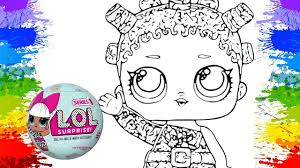 coloring lol surprise doll baby ball dolls girls coloring book