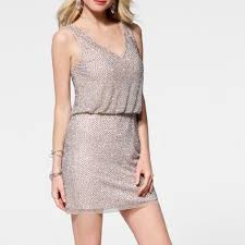 54 off cache dresses u0026 skirts cache caviar beaded blouson dress