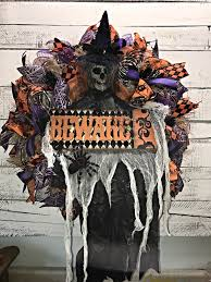 halloween decorations skeleton halloween wreath scary halloween wreath creepy skeleton