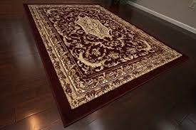 Burgundy Area Rugs 8x10 Burgundy Area Rug Amazon Com