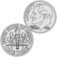 counting money coloring pages virtren com
