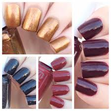 cat eyes u0026 skinny jeans essie fall 4pc mini swatches review