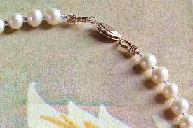 necklace clasps vintage images Repairing a vintage pearl necklace crafternoon treats jpg