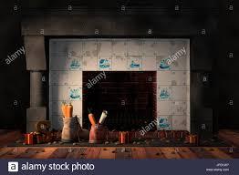 tile fireplace stock photos u0026 tile fireplace stock images alamy