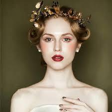 bridal crowns retro bridal crowns vintage wedding jewelry golden baroque