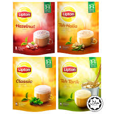 Teh Lipton lipton malaysia s flavors 3in1 milk tea 12 sticks 11street