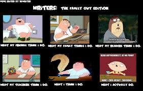 Family Guy Meme - writers meme the family guy edition by xkwriter on deviantart