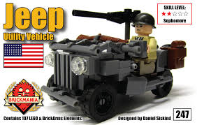 lego jeep instructions brickmania u0027s new 1 35 scale jeep utility car now available