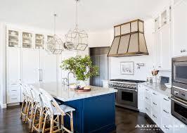 blue kitchen island white kitchen with navy blue island reno ideas home bunch