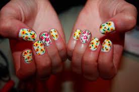 21 pieces of springtime nail art inspiration nails