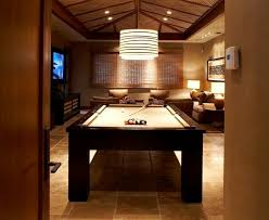 Dining Room Table Pool Table - pretty mizerak pool table in family room contemporary with bonus