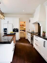 Kitchen Designs With White Cabinets And Black Countertops - white cabinet dark floor houzz