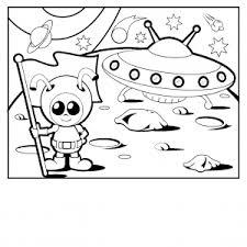 fresh alien coloring 86 free coloring kids alien