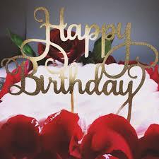 baby s birthday aliexpress buy glitter gold silver happy birthday party cake