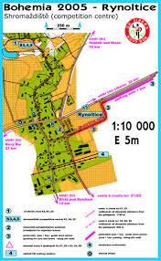 Bohemia Map Bohemia Orienteering Nový Bor 3rd 7th August 2005 News