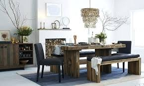 Farmhouse Benches For Dining Tables Dining Table Black Wood Bench For Dining Table Set Wooden Sets