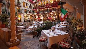 Patio Cafe Lights by Inland Empire Restaurants Mission Inn Riverside Hotel