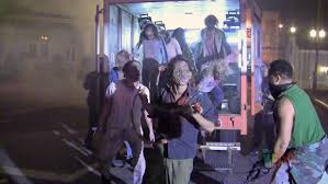halloween horror nights tickets florida residents zombie van unleashes walkers on halloween horror nights 2013 at