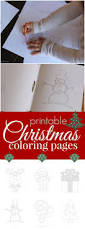 220 best christmas coloring pages images on pinterest drawings