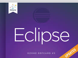 getting started with eclipse dzone refcardz