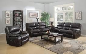 livingroom furniture willemse dark brown reclining living room set from coaster 601931