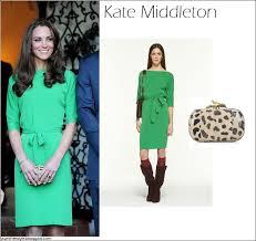 what she wore kate middleton in green diane von furstenberg dress