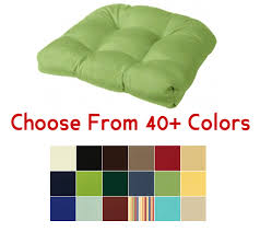 tufted rounded back chair cushion 21