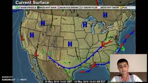 Weather Usa Map Usa Weather Map Youtube