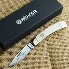 boker traditional series white bone gentleman s lockback pocket boker traditional series white bone gentleman s lockback pocket knife 110250wb ebay