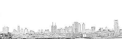 stock pictures drawings of mumbai skylines south mumbai