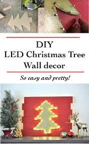 diy led christmas tree wall decor anika u0027s diy life