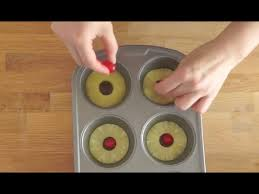 pineapple upside down cakes youtube