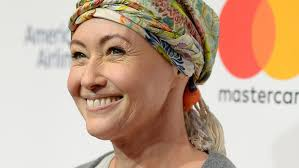 how to grow out hair after cancer shannen doherty reveals her hair is growing back after chemo in