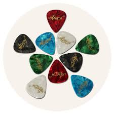 wholesale oem odm high quality celluloid material guitar picks