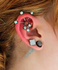 piercing types and 80 ideas on how to wear ear piercings beautyfrizz