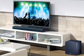 yamaha home theater in a box sound bars get better audio for your tv