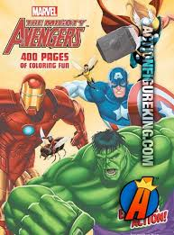 mighty avengers 400 coloring book dalmation press